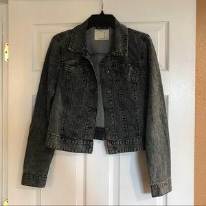 Dark gray jean jacket